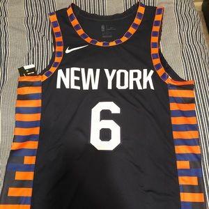 NWT New York Knicks #6 Kristaps Porzingis Jersey